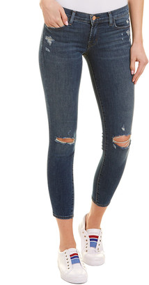 J Brand Affinity Low-Rise Skinny Crop