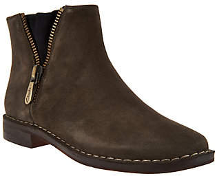 Clarks Somerset Suede Ankle Boots - CabaretRuby