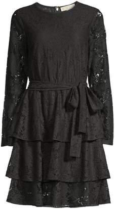 MICHAEL Michael Kors Lace Tiered Dress