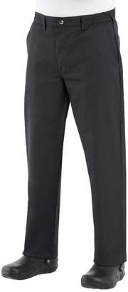 JCPenney Chef Designs Button-Front Chef Pants-Big & Tall