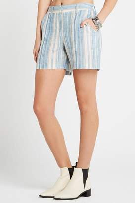 BCBGeneration Striped Boyfriend Shorts