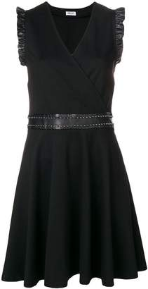 Liu Jo studded belt flared dress