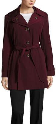 Liz Claiborne Belted Raincoat