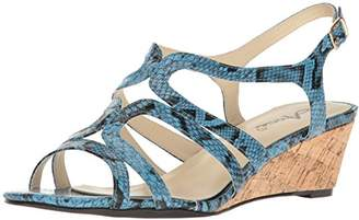 Annie Shoes Women's Aspen W Espadrille Wedge Sandal