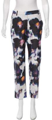 Paul Smith Printed Mid-Rise Pants