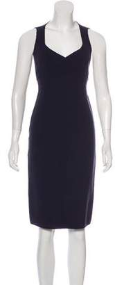 Michael Kors Virgin Wool Sheath Dress