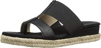 Adrienne Vittadini Footwear Women's Codie Wedge Sandal $7.59 thestylecure.com