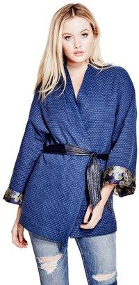 GUESS Kimono Jacket $148 thestylecure.com