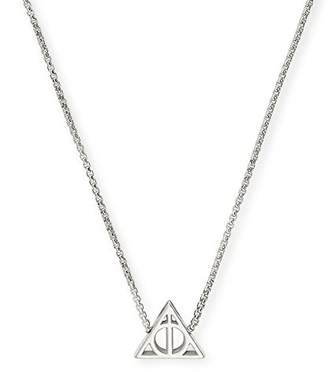 Alex and Ani Women Silver Pendant Necklace of Length 53.34cm AS17HP15S