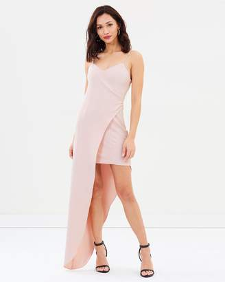 Missguided Peace + Love Wrap Dress