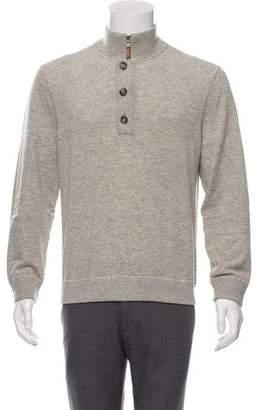 Michael Kors Wool Mock Neck Sweater