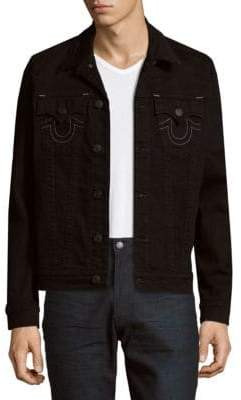 True Religion Embroidered Logo Jacket