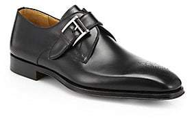 Saks Fifth Avenue Men's COLLECTION BY MAGNANNI Leather Monk-Strap Dress Shoes