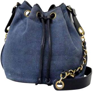 Chanel Vintage Blue Denim Jeans Handbag