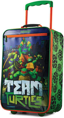 "American Tourister Ninja Turtles 18"" Softside Rolling Suitcase"