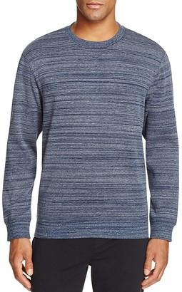 UGG® Erik Heathered Stripe Sweatshirt $85 thestylecure.com