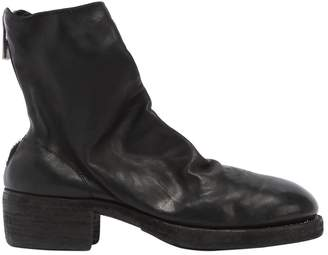 Guidi 1896 796z Zip-Up Full Grain Leather Boots