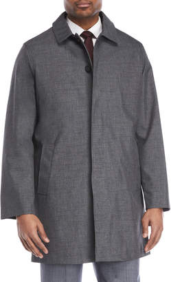 Kenneth Cole Rally Button Rain Coat