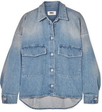 MM6 MAISON MARGIELA Oversized Denim Jacket - Mid denim