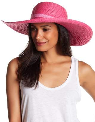 8b5d64fae618e8 14th & Union Pop Color Straw Floppy Hat