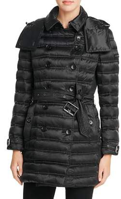 Burberry Chesterford Mid-Length Down Puffer Coat