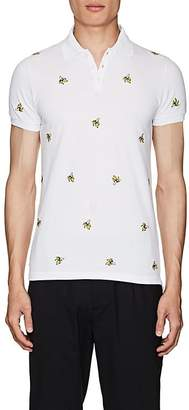DSQUARED2 Men's Banana-Embroidered Cotton Polo Shirt