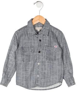Appaman Fine Tailoring Boys' Stripe Button-Up Shirt