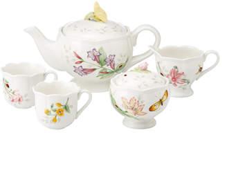 Lenox Dinnerware, Butterfly Meadow Mini 7 Piece Tea Set