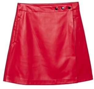 MANGO Wrap miniskirt