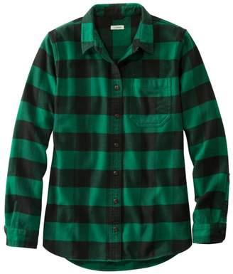 L.L. Bean Women's L.L.Bean Organic Flannel Tunic, Plaid