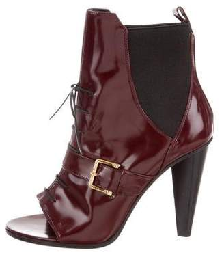 Derek Lam Peep-Toe Ankle Boots