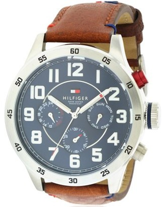 Tommy Hilfiger Leather Chronograph Mens Watch 1791066