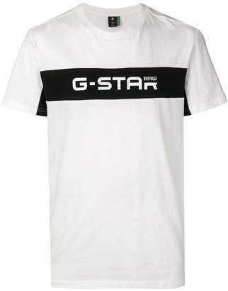 G Star Research logo print T-shirt
