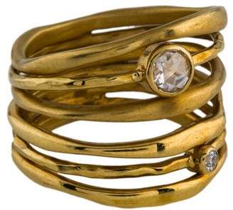 Ippolita 18K Diamond Movie Star Ring
