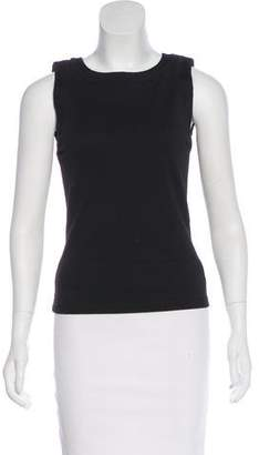 Armani Collezioni Sleeveless Bateau Neck Top w/ Tags