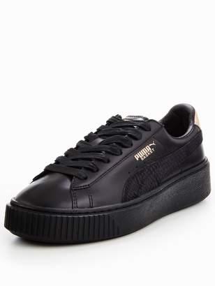 Puma Basket Platform Euphoria - Black