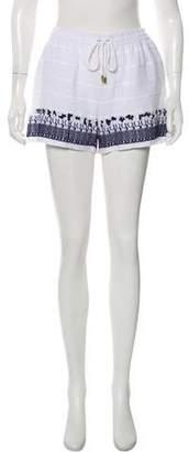 MICHAEL Michael Kors High-Rise Beach Shorts w/ Tags