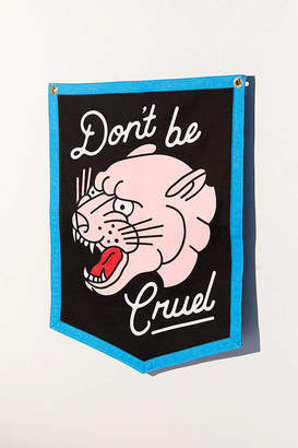 Urban Outfitters Oxford Pennant For Don't Be Cruel Wall Hanging