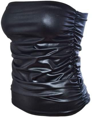 aef3bcbb64 JanisRamone New Womens Boobtube Bandeau Strapless Top Ladies Side Ruched Crop  Bra Vest Top
