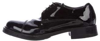 Miu Miu Patent Leather Derby Shoes