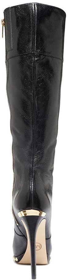 MICHAEL Michael Kors Ailee Tall High Heel Dress Boots