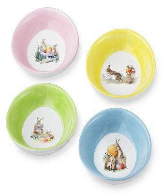 Nostalgic Easter Ramekins, Set of 4
