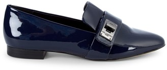Karl Lagerfeld Paris Nelia Patent Leather Loafers