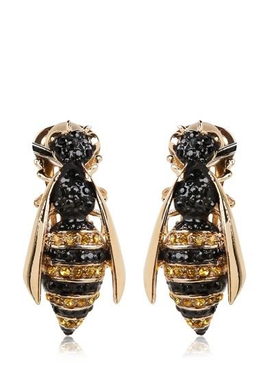 Schield Bee Earrings