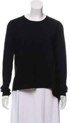 Derek Lam Asymmetric Long Sleeve Sweater