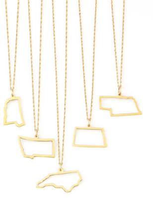 Maya Brenner Designs 14k Gold Necklace, M-W & DC