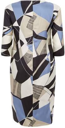 Marina Rinaldi Silk Midi Dress