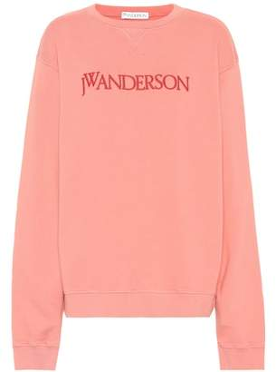 J.W.Anderson Embroidered cotton sweatshirt