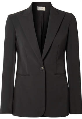 The Row Limay Cotton-blend Blazer - Black