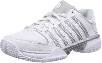 K-Swiss 93380 Men's Hypercourt Exp Ltrhb Shoes, /Silver/Glacier Grey-10